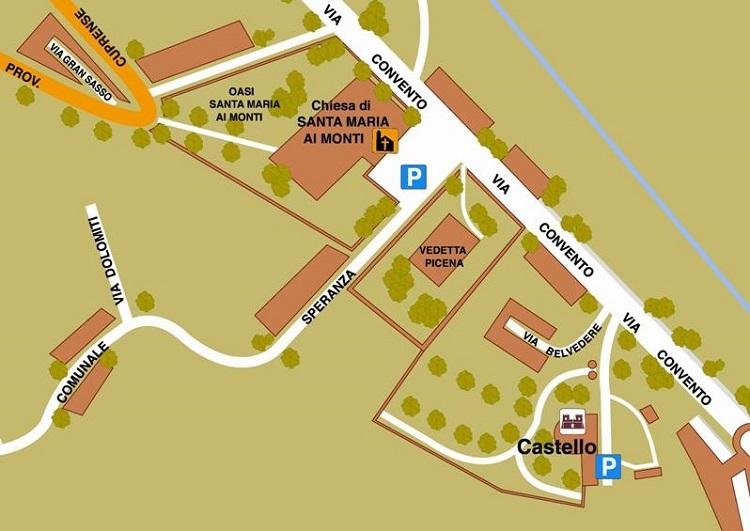 Il Castello - mappa