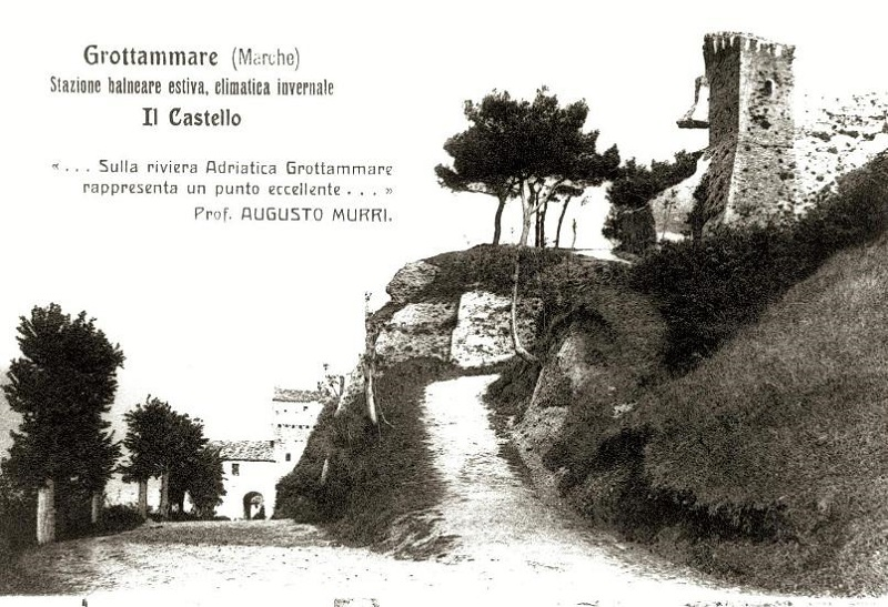 Antica cartolina del Castello