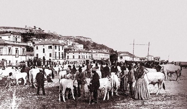 Foto d'epoca Fiera di San Martino
