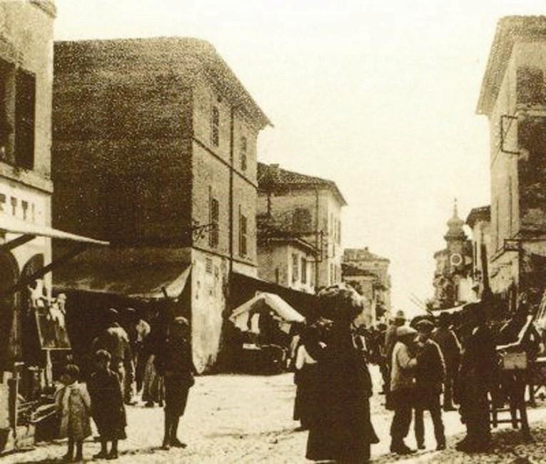 Foto d'epoca della Fiera di San Martino