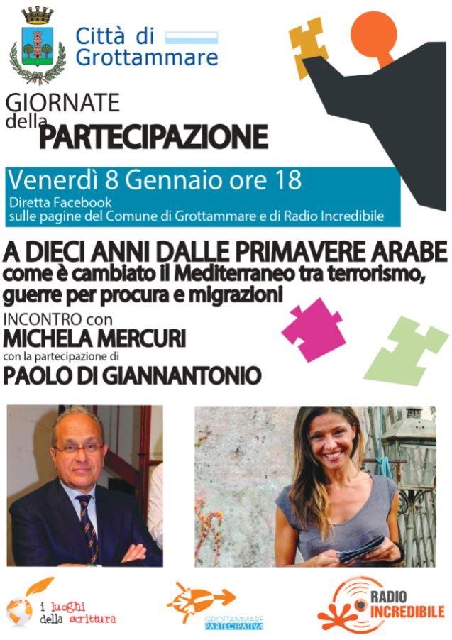 INCONTRO con MICHELA MERCURI e PAOLO DI GIANNANTONIO