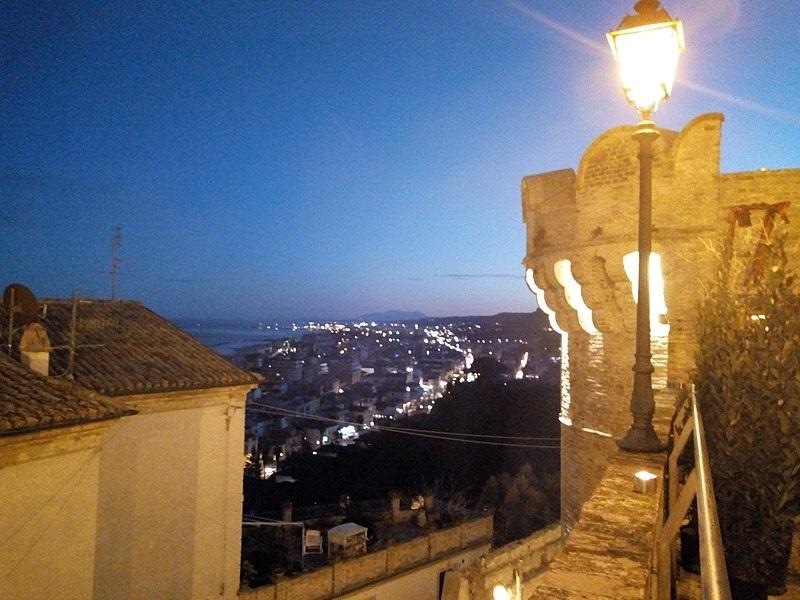 Panorama notturno dal Torrione
