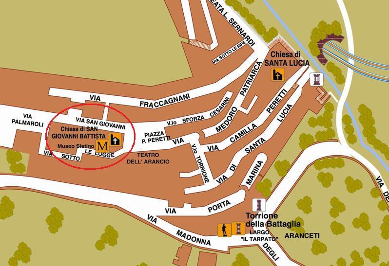 Stralcio mappa