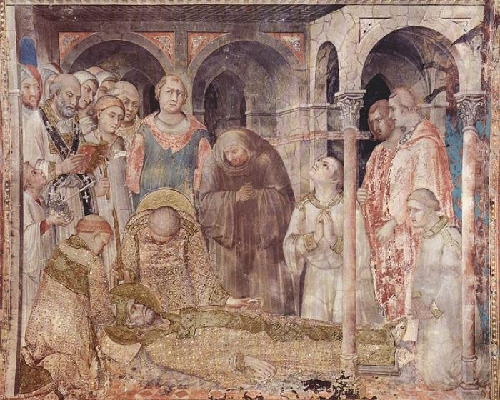 Morte di San Martino