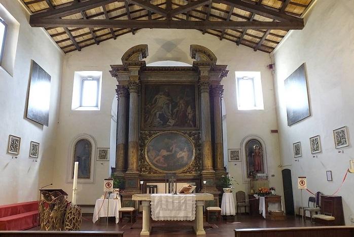 Sant'Agostino altare maggiore