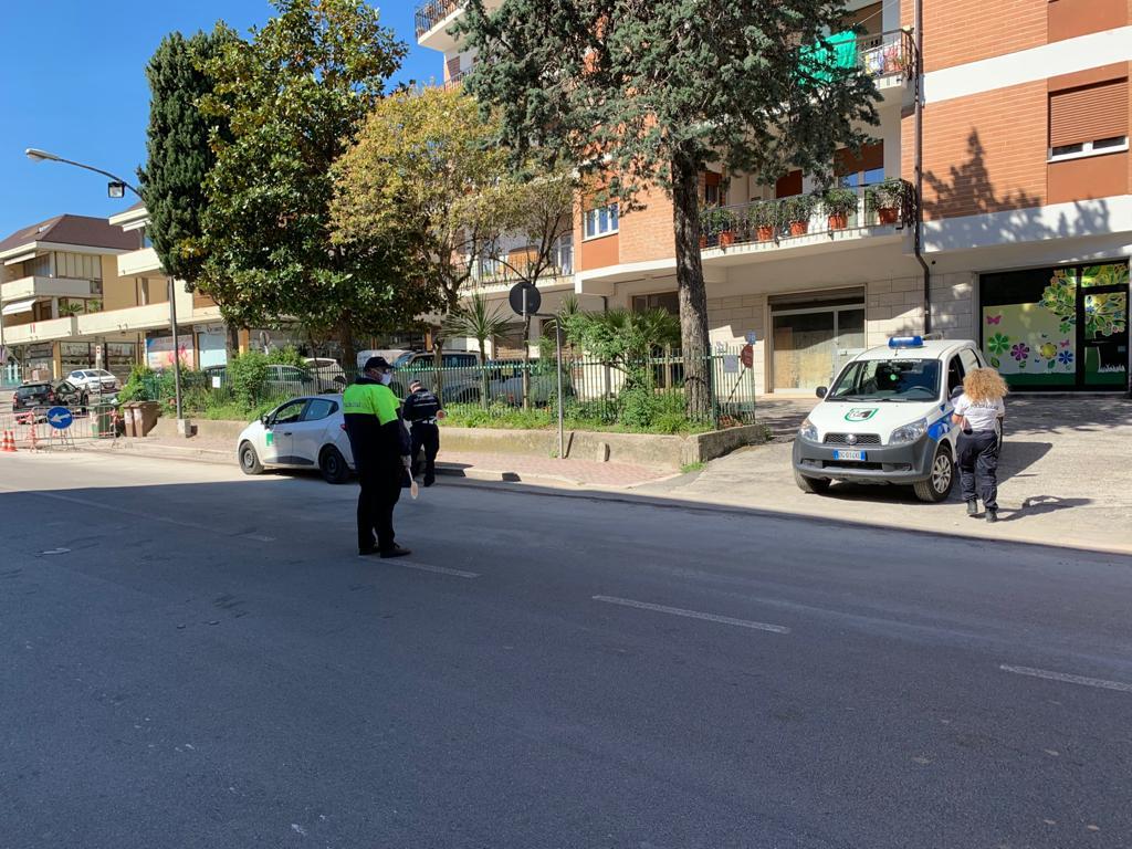 Pattuglia Polizia locale