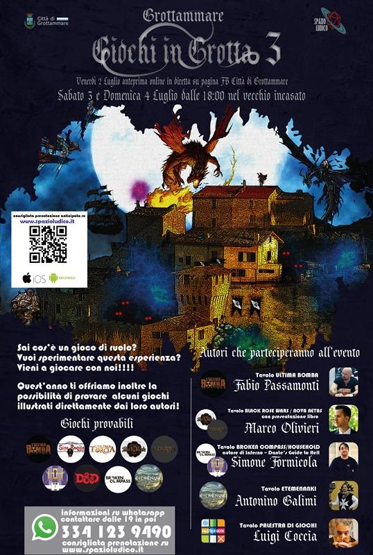 Giochi in grotta 3ed_locandina