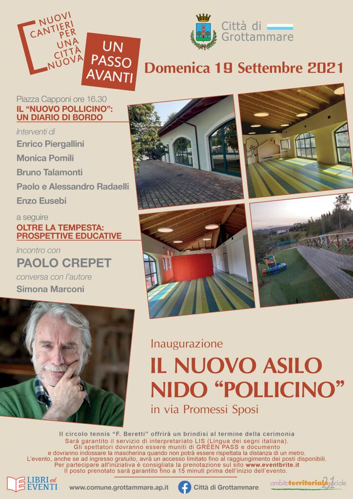 Locandina inaugurazione Pollicino