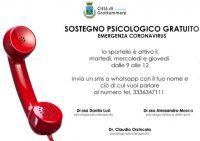Sostegno psicologico gratuito